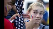 Ecuador vs. Estados Unidos: la fiesta de los hinchas en previa