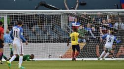 Estados Unidos marcó su segundo gol gracias al 'ghanés' Zardes
