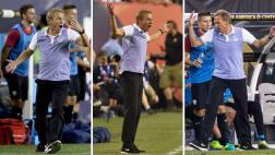 Los momentos de locura de Klinsmann en la zona técnica [VIDEO]