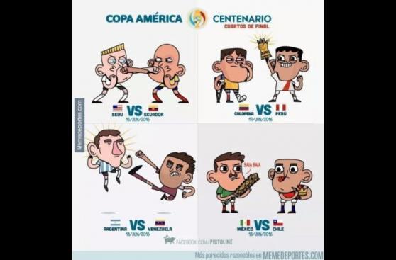 Estados Unidos vs. Ecuador: hinchas publican hilarantes memes