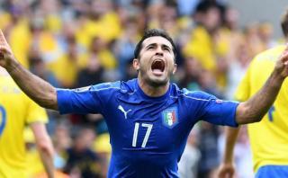 Italia venció con agónico gol a Suecia y sigue en Eurocopa 2016