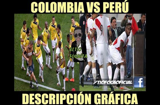 Perú vs. Colombia: memes previo al duelo de cuartos de final