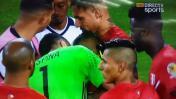 Colombia tuvo gesto que lo enaltece tras ganarle a Perú [VIDEO]