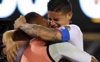 James Rodríguez: conmovedor llanto tras ganar a Perú [VIDEO]