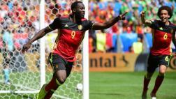 Bélgica goleó 3-0 a Irlanda en la Euro con doblete de Lukaku