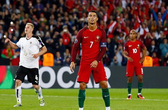 Cristiano Ronaldo: su desesperación con Portugal en Eurocopa