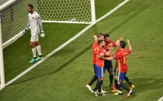 Euro 2016: España y la genial toma aérea del gol de 22 toques