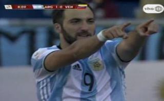 Lionel Messi y un pase majestuoso para gol de Higuaín [VIDEO]