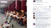 Facebook: Ezequiel Lavezzi publica una foto que desata polémica