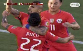 Edson Puch anotó para Chile tras rebote de Guillermo Ochoa