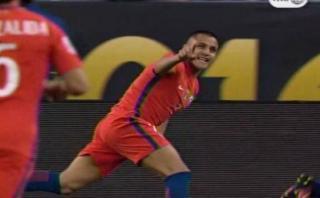 Copa América 2016: Chile marcó dos goles en cinco minutos