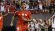 Selección chilena: mira el póker que marcó Eduardo Vargas