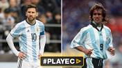 Lionel Messi: tres diferencias con Gabriel Omar Batistuta