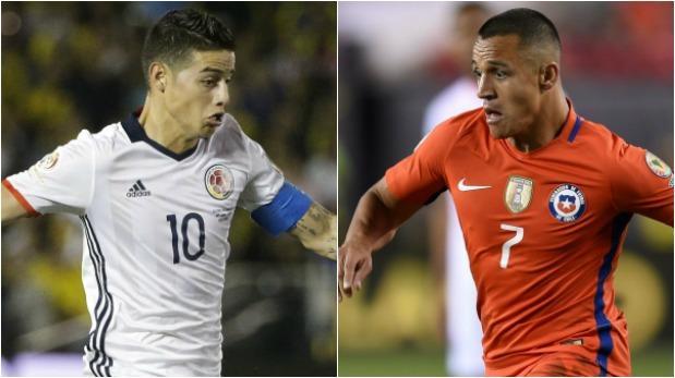 Colombia vs. Chile: se miden por semifinal de Copa América 2016