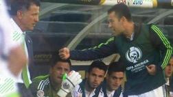 Rafa Márquez encaró a técnico de México en goleada ante Chile