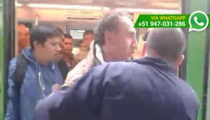 Ladrón de celulares es atrapado en Línea 1 del Metro de Lima