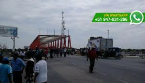 Piura: puente de Sechura seguirá bloqueado hasta el martes