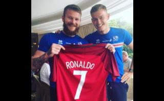 Eurocopa 2016: la broma de Islandia a Cristiano Ronaldo