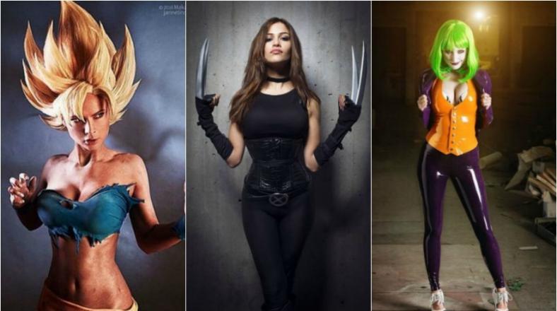 'Cosplays' de personajes masculinos en versión femenina
