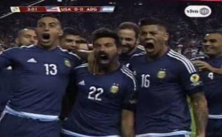 Argentina: Lavezzi marcó 1-0 tras genial pase de Messi [VIDEO]