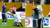 Copa América: hincha se rindió a los pies de Lionel Messi