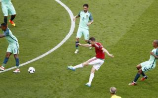 Hungría sorprendió a Portugal con golazo de fuera del área