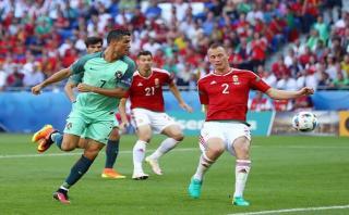 Portugal clasificó a octavos: igualó 3-3 ante Hungría por Euro