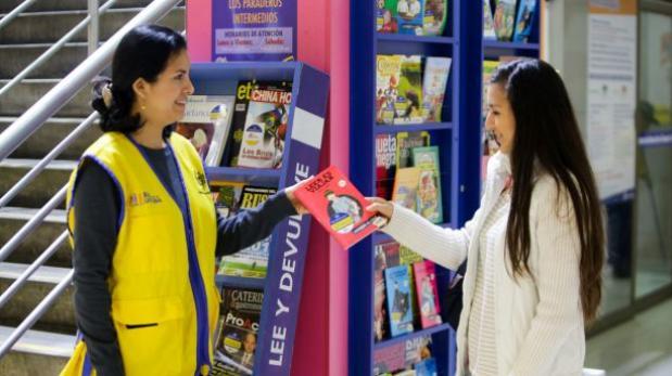 Metropolitano: así buscarán que pasajeros devuelvan libros