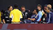 Ezequiel Lavezzi: mira cómo quedó su codo tras fuerte caída