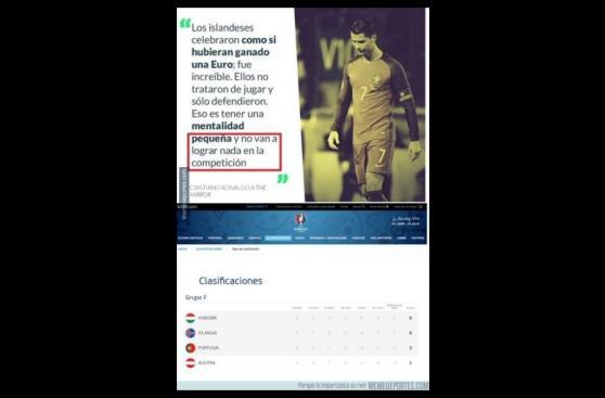 Cristiano Ronaldo: los memes tras su clasificación con Portugal