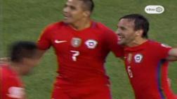 Chile: Fuenzalida anotó tras gran jugada de Alexis Sánchez