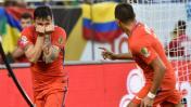 Chile vs. Colombia: las postales del duelo de semifinales
