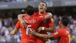 Chile venció 2-0 a Colombia y jugará final de la Copa América
