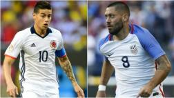Colombia vs. Estados Unidos por tercer lugar: día y hora