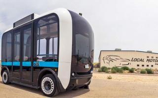 Olli, el primer minibús autónomo y eléctrico de EE.UU. [VIDEO]