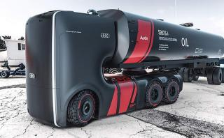 Así luciría un camión hecho por Audi [FOTOS]