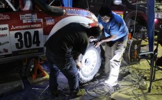 Baja Inka: Así trabajan los mecánicos en el campamento [FOTOS]