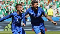 Francia venció 2-1 a Irlanda tras ir abajo en el marcador