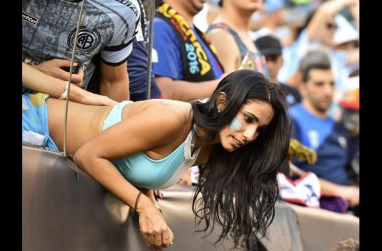 Chile-Argentina: mágico ambiente previo a final de Copa América