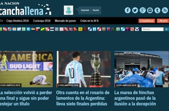 Chile y Messi: el título y lamento en las portadas del mundo