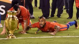 """Arturo Vidal tras título: """"Siempre supimos que íbamos a ganar"""""""