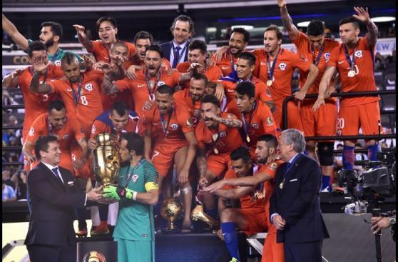 Chile campeón: algarabía, felicidad y éxtasis en imágenes