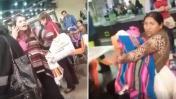 Mujer perdió la paciencia: agredió e insultó a madre y su bebe