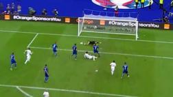 Buffon y la fantástica atajada que dio pase a cuartos a Italia