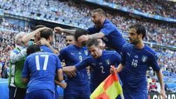 Italia eliminó a España: ganó 2-0 y ya está en cuartos de final
