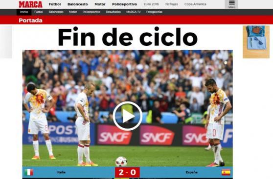 España: prensa española ya habla de un
