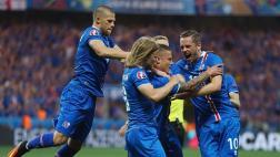 Euro: Islandia anotó dos goles y remontó a Inglaterra [VIDEO]