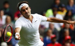 Roger Federer venció al argentino Pella en estreno de Wimbledon
