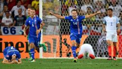 Islandia dio el golpe: ganó 2-1 a Inglaterra y avanzó a cuartos