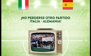 Aerolínea italiana se burla de la derrota de España en Twitter